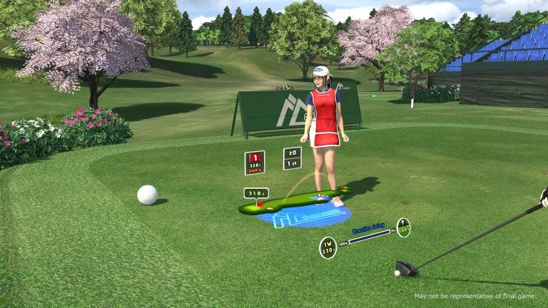 everybody's golf vr, test, avis, immerion ,simulation de golf, ps4
