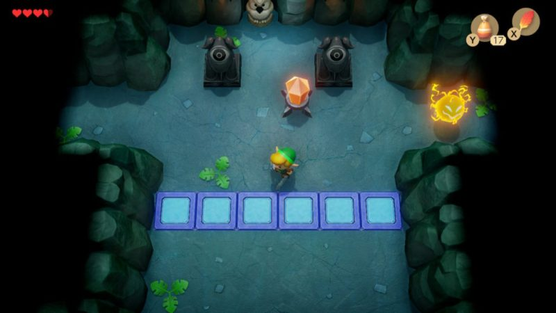 zelda link awakening soluce solution fr grotte du genie fr switch