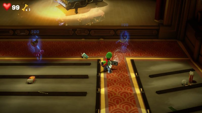 Luigi's Mansion 3 soluce solution fr guide etage 4 salle concert switch