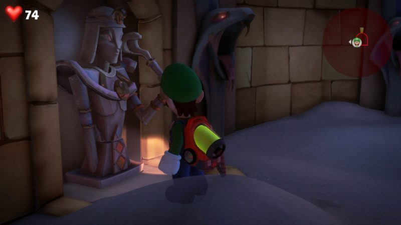 luigi's mansion 3 soluce solution enigme pharaon egypte cleopatre soluce solution switch fr guide