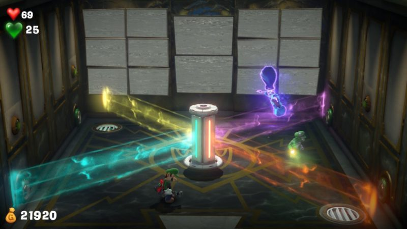 luigi's mansion 3 switch fr soluce solution suite maitresse enigme ambre brusquade