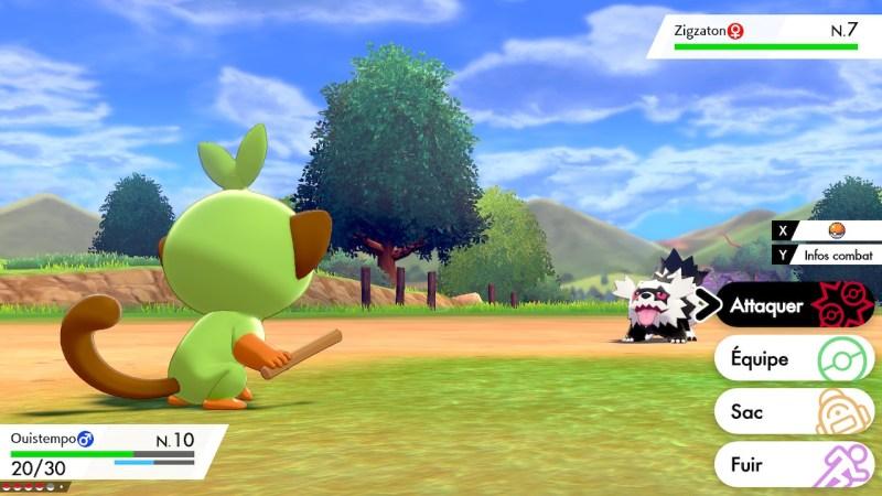 solution cheminement route 2 pokemon epee bouclier, zizgaton emplacement