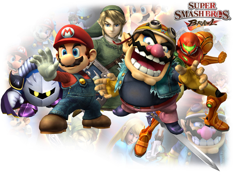 Super Smash Bros Brawl Character Roster