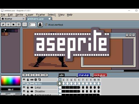 Aseprite: Animated Sprite Editor & Pixel Art Tool - Game Anim