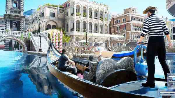 Final Fantasy XV Altissia - Venezia