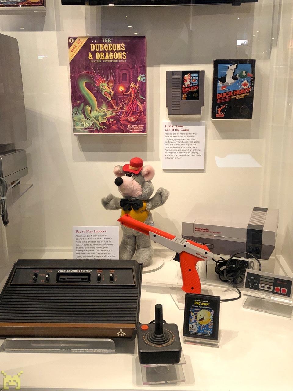 Nintendo & Atari display