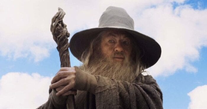 Gandalf in the lord of the rings