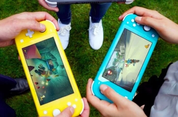 image of nintendo switch lite consoles