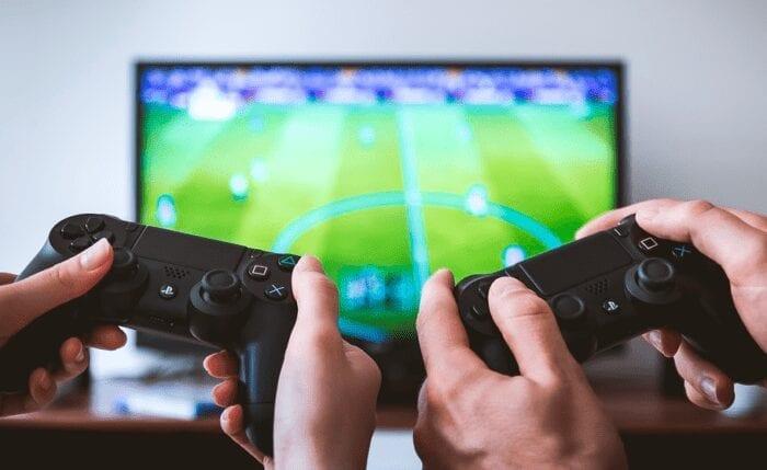 Stock photo of gaming