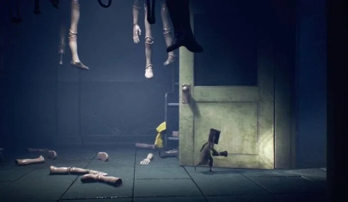 Mono and Six in Little Nightmares 2