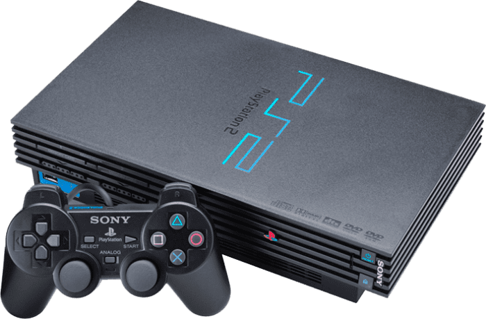 PS2 stock image