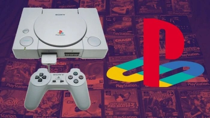 Ps1 consoles and logo