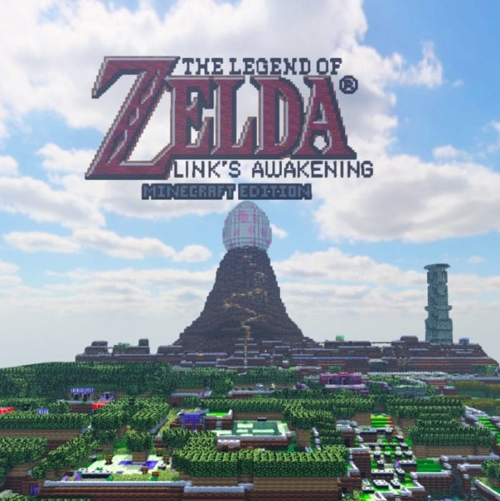 links awakening in minecraft
