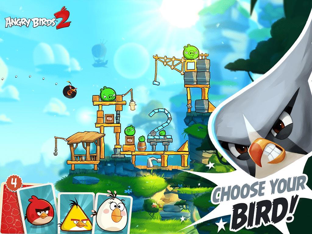 Angry Birds 2 birds
