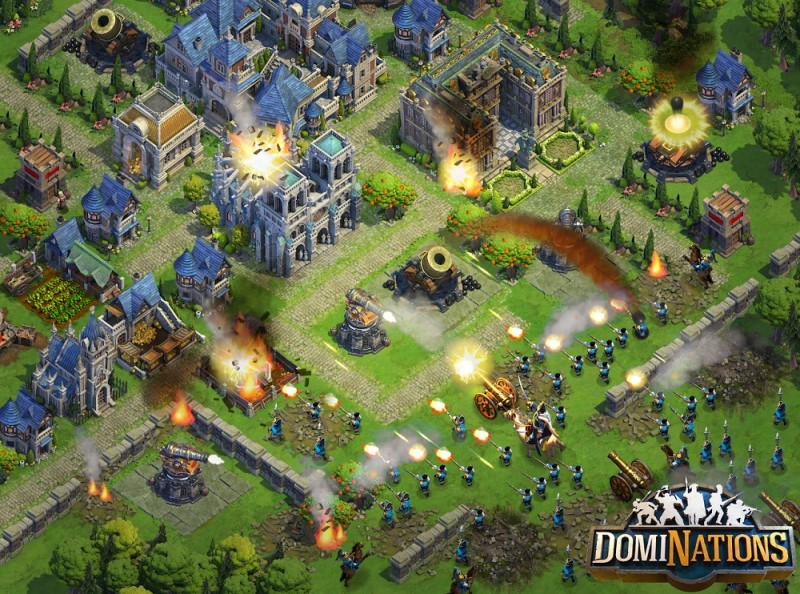 DomiNations base tips