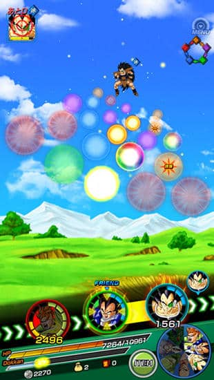 Dragon Ball Z Dokkan Battle timeline