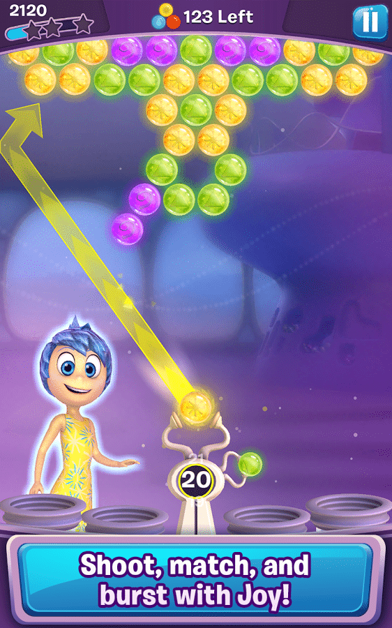 Inside Out Thought Bubbles trick shots