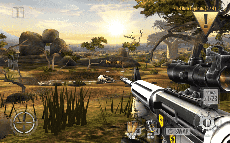 Deer Hunter 2016 organs shot