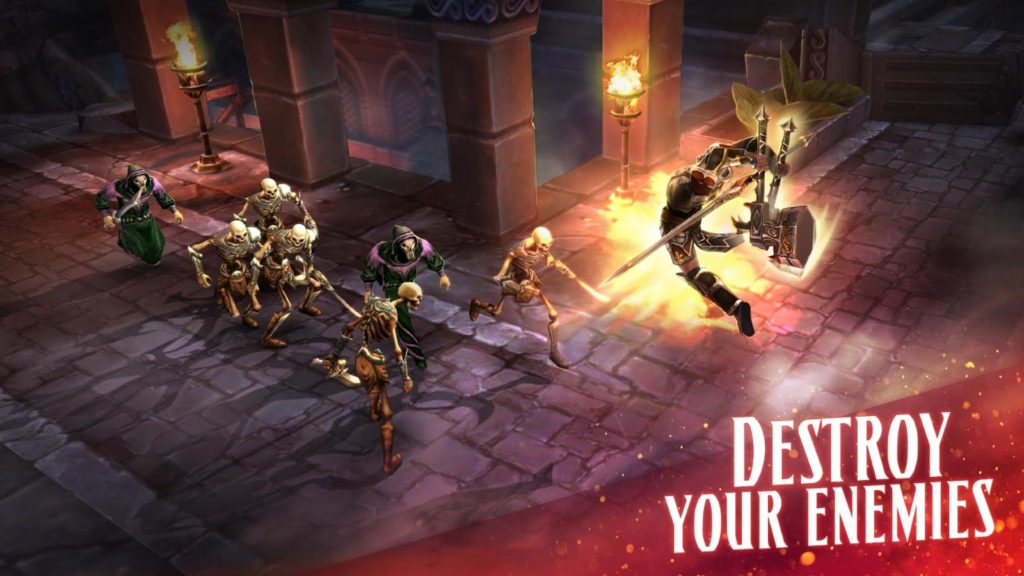 Eternity Warriors 4 enemies