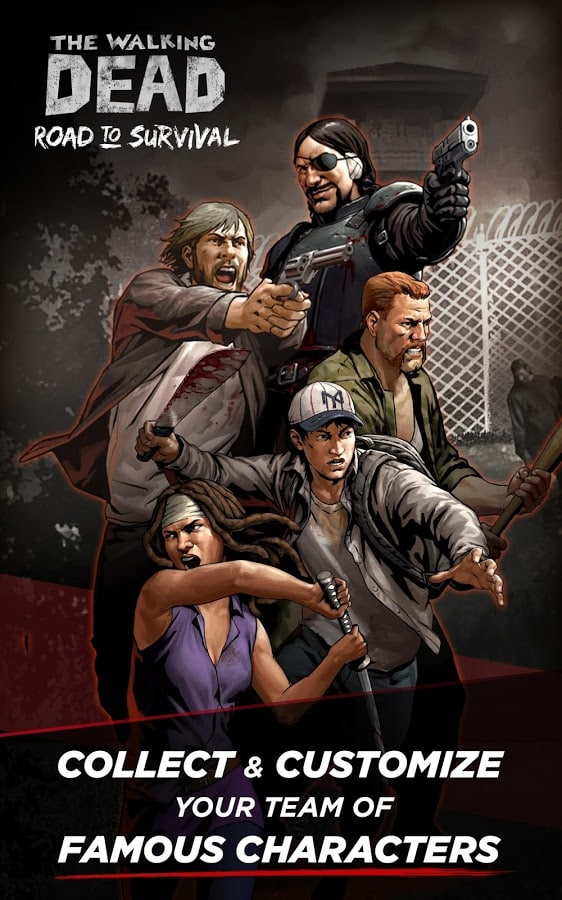 Walking Dead Road to Survival customise