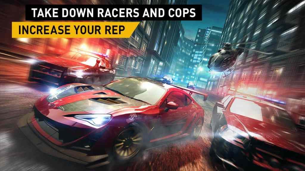 Need For Speed No Limits races