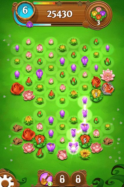 Blossom Blast Saga bloom meter