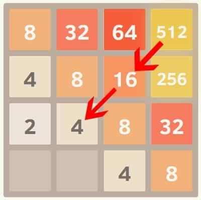 2048 corners