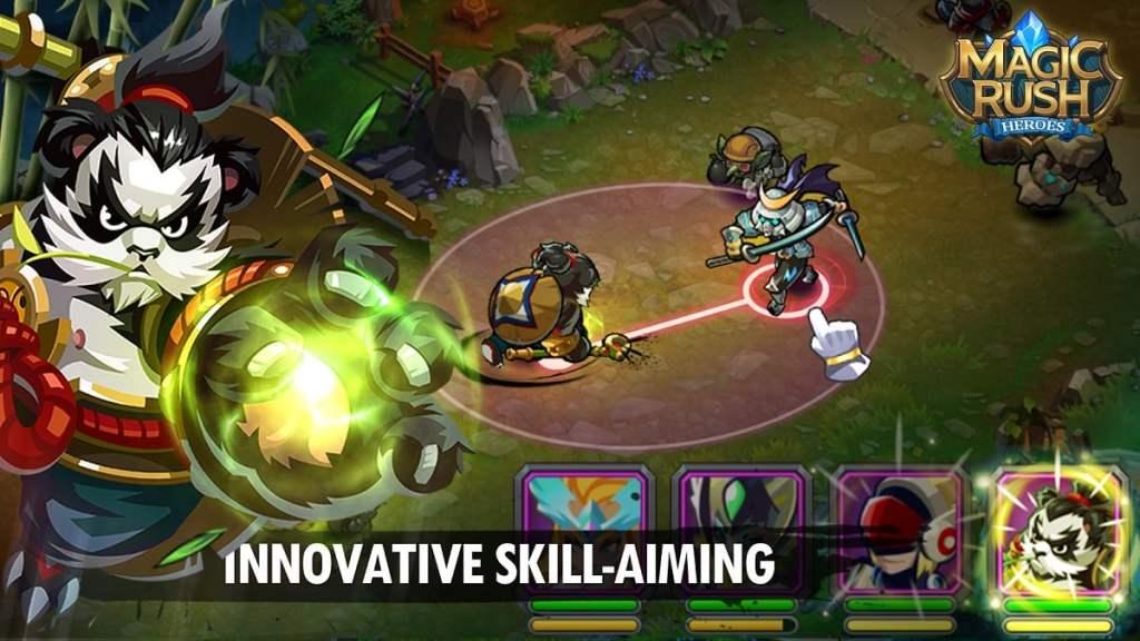 Magic Rush Heroes skill