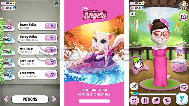 My Talking Angela game