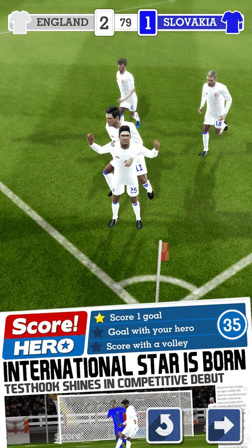 Score! Hero star