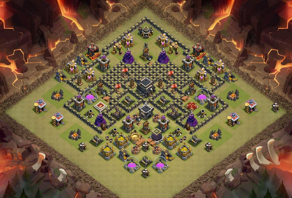 clash of clans layout 10