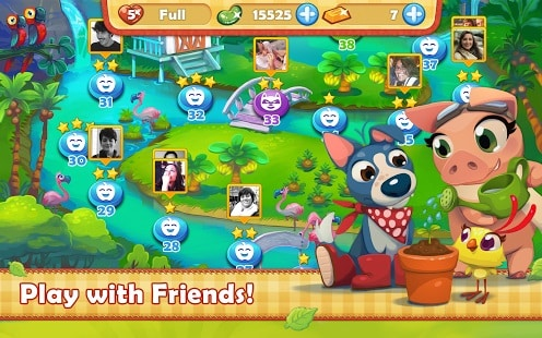Farm Heroes Saga friends