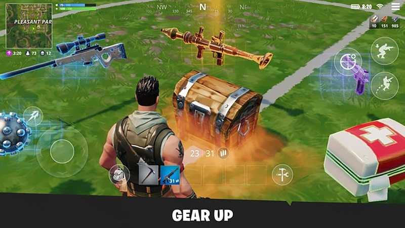 download fortnite for free on phone