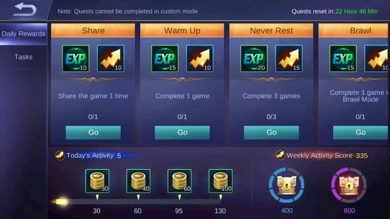 mobile legends: bang bang - how to get free battle points