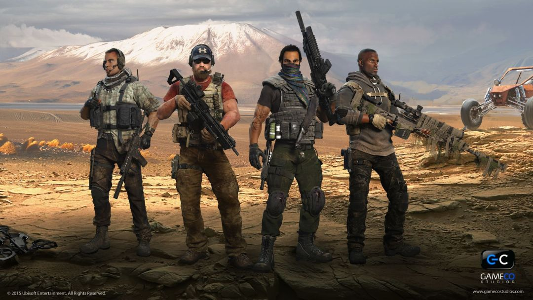 ghost-recon-wildlands-illustration-family