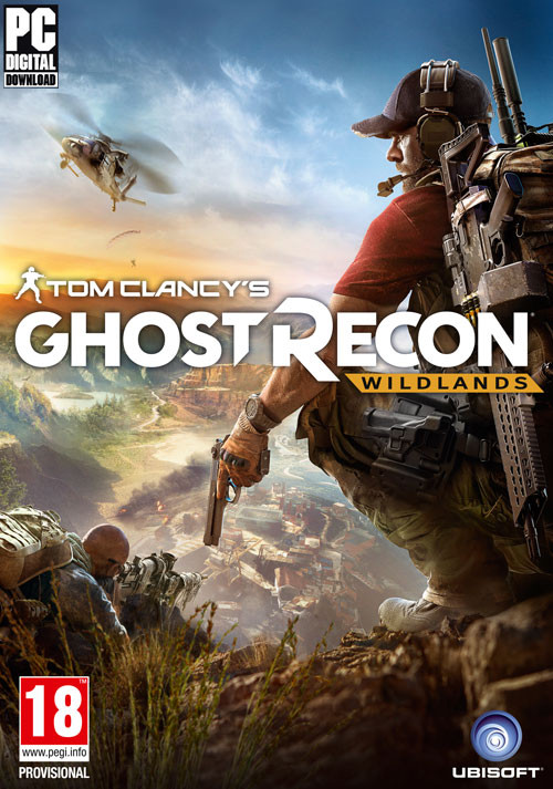 TomClancy's Ghost Recon Wildlands packshot