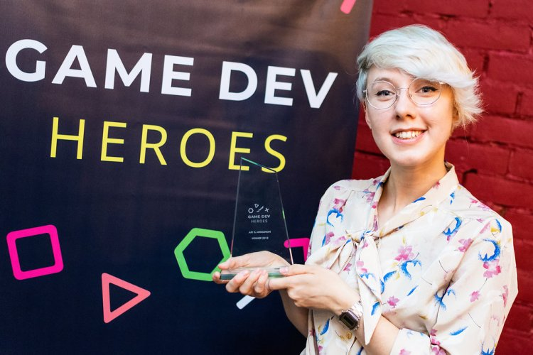 Anna Hollinrake - Art & Animation Winner - Game Dev Heroes 2018