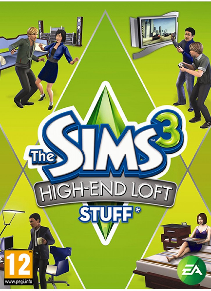 The Sims 3 High End Loft Stuff PCMac Download Official