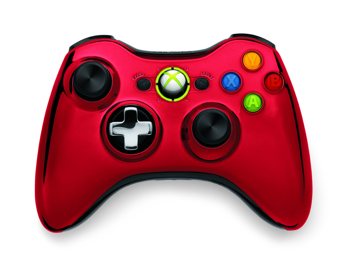 Game News Shiny New Chrome Series Wireless Controllers
