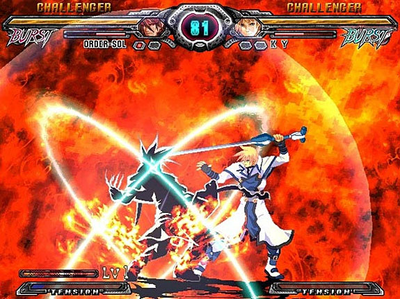 Feature  Four Favorite Fighting Game Mechanics   GameDynamo Four Favorite Fighting Game Mechanics   Guilty Gear XX     Burst