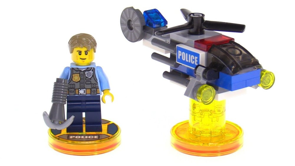 Lego Dimensions Fun Pack: Lego City Chase McCain