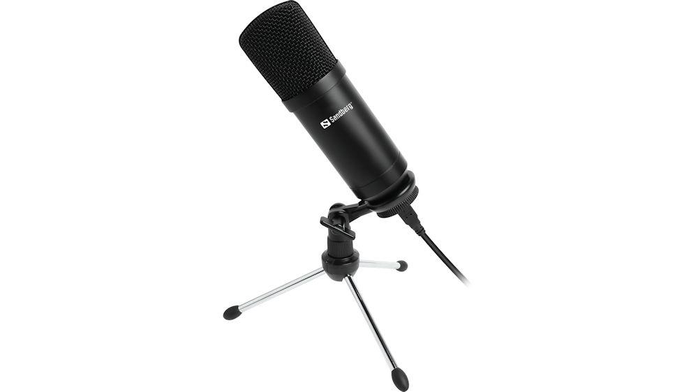 Sandberg Streamer USB Desktop Microphone