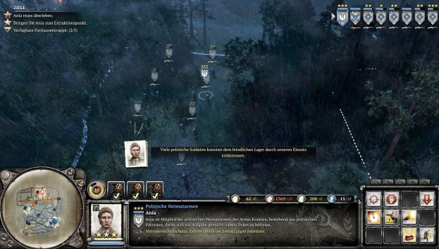 Company of Heroes 2 Mission Hinter feindlichen Linien 1