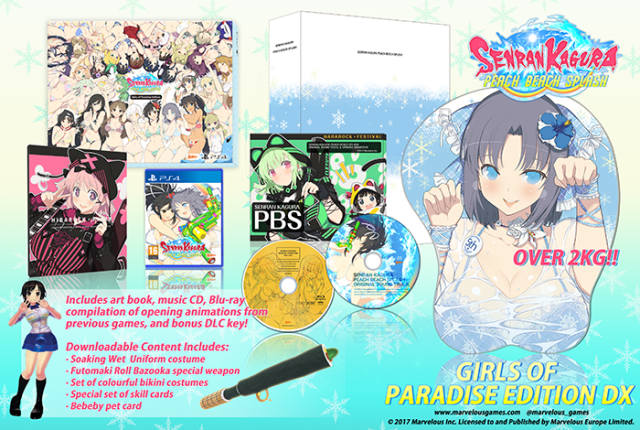 Girls of Paradise Collectors Edition DX