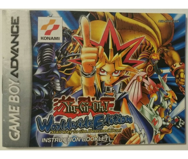 Yu Gi Oh Worldwide Edition Stairway To The Destined Duel Nintendo