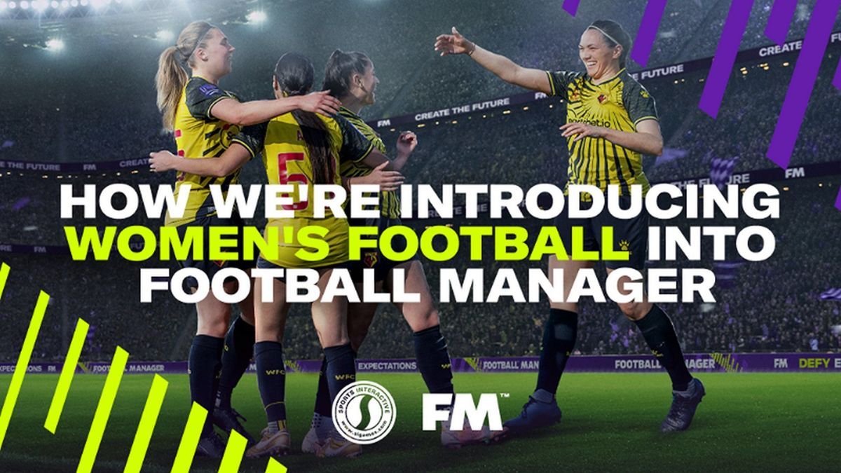 Football Manager will incorporate women's soccer into the game