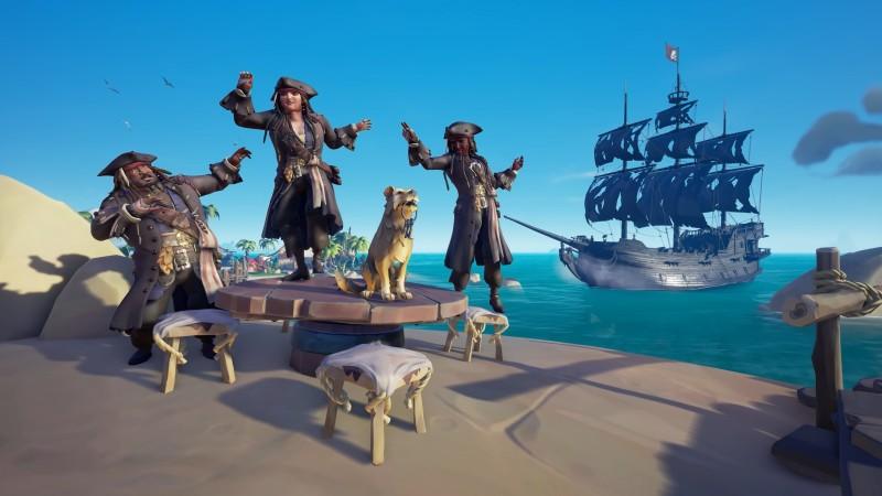sea of thieves a pirates life cosmetics