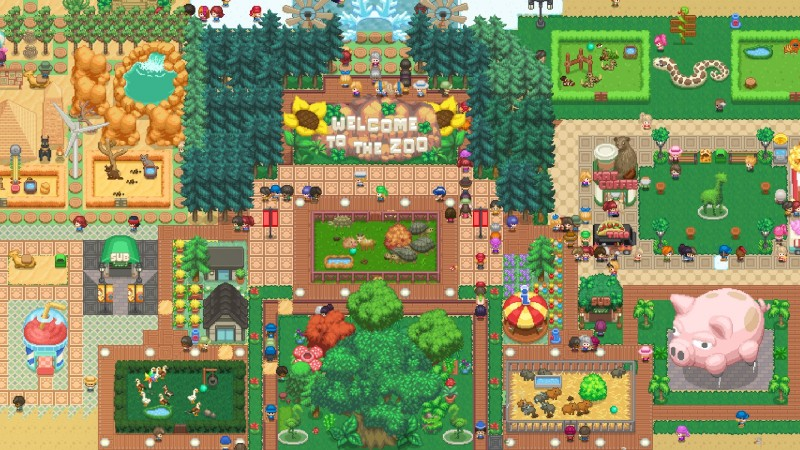 Splice The Abominations Of Your Dreams In Let's Build A Zoo This November 2