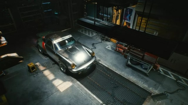 New Cyberpunk 2077 Gameplay Shows Off New Porsche, Ability To Summon A Car Like Roach In Witcher 3 2