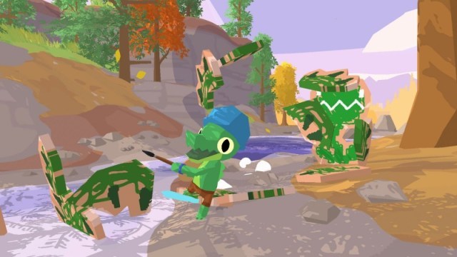 Explore A Cheerful Island Playground In Lil Gator Game 2